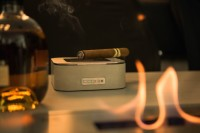 opus patera | Concrete and Stainless Steel Cigar Ashtray