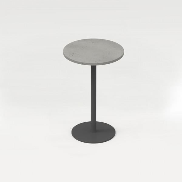 tabula orbis | Round Concrete Lounge Table