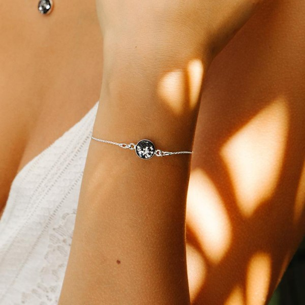 Armband LIA Black Silver | by Concrete Jungle
