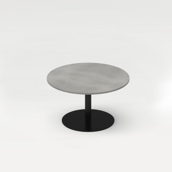 tabula orbis | Round Concrete Couch Table