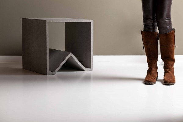 angulus mutatio | Concrete stool / Table / Modul - fire protection